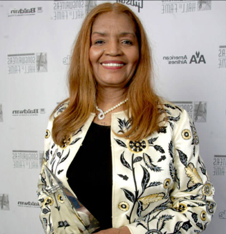 Image of Sylvia Moy at the Songwriters Hall of Fame Awards